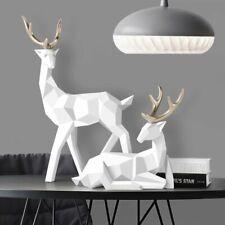 Figurine Deer Statue Nordic Decoration Home Decor Statues Resin Deer Figurines