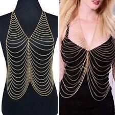 Lady Belly Harness Sexy Bikini Beach Tassel Waist Jewelry Body Chain Necklace