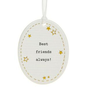 Thoughtful Words Plaque : Best Friends Always!