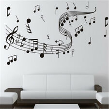 Music Notes Band Room Home Removable Wall Stickers Decals Vinyl DIY Art Decor US