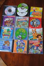Lot 13 Disney, Barbie, Children Cd Games Educational Activities cases