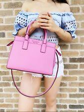 Kate Spade Cameron Street Medium Satchel Crossbody Bright Peony Pink