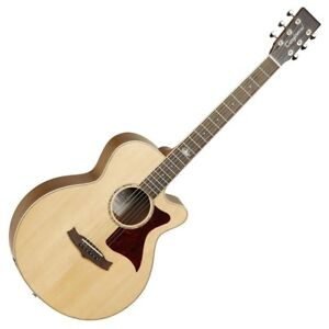 TANGLEWOOD TW145SS CE PREMIER III SUPER FOLK ELECTRO-ACOUSTIC GUITAR, NEW
