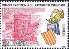 ESPAÑA 1983. Estatuto de autonomía de Valencia. Edifil 2691
