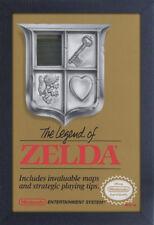 THE LEGEND OF ZELDA COVER 13x19 FRAMED GELCOAT POSTER NINTENDO VIDEO GAME NES!!!