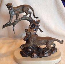 "Legends Sculpture ""ENCOUNTER"" Kitty Cantrell 1995 LE ~ CO/Original Box ~ Mint!"