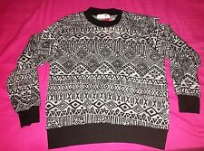 Brand New Girls Glitter Jumper - Black Grey - Christmas - Age 11 - 12 Years Old