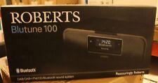 Roberts Radio BluTune 100 Radio mit CD-Player, Bluetooth, DAB+ SCHWARZ