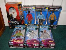 "Classic Star Trek 12"" Mugato + 9"" LOT Kirk Uhura McCoy Chekov Bele Talosian MISP"
