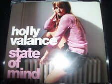 Holly Valance State Of Mind Remixes Australian CD Single – Like New