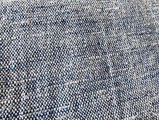 Jasper Michael S. Smith Woven Tweed Upholstery Fabric- Kinsale Blue 2 yd JW1601