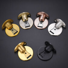 Stainless Steel Strong Magnetic Door Stopper Floor Mount Self Adhesive Door Stop