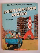 BD HERGE - TINTIN - DESTINATION MOON - GOLDEN PRESS - EO américaine - 1960
