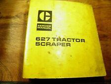 Cat Caterpillar 627 Tractor Scraper Service Manual 50K 54K