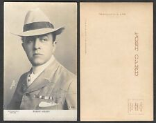 Old Postcard - Robert Edeson with Autograph