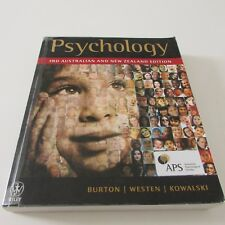 Psychology 3rd Australian and New Zealand Edition - Burton, Weston, Kowalski