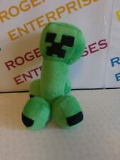 """Minecraft Creeper 7"""" Plush Soft Toy with attached ring / Keyring"""