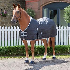 Derby House Elite Standard 100g Liner Horse Rug Under - Black Cool Grey