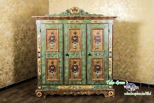 Voglauer Anno 1800 Old Green Cottage Hall Wardrobe Wardrobe Farmhouse Wardrobe