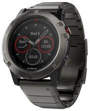 Garmin Fenix 5 X zafiro GPS Multisport smartwatch acero inoxidable 010-01733-03