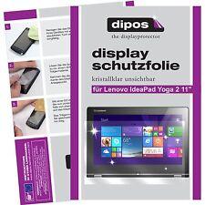 2x dipos Lenovo IdeaPad Yoga 2 11 Protector de Pantalla transparente