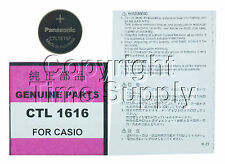 CASIO G-SHOCK CTL1616 CTL 1616 WATCH BATTERY PAG-50-1V