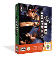 - WWF No Mercy N64 Replacement Game Case Box + Cover Art Work Only