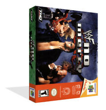 WWF No Mercy N64 Replacement Game Case Box + Cover Art Work (No Game)