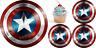 Captain America Avengers Eßbar Tortenbild Tortenaufleger Party Deko Muffin neu