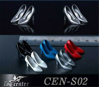 """Toy Center 1/12 Female High Heels Shoes Model Toys For 6"""" Figure Body Accessory"""
