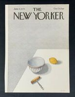 COVER ONLY ~ The New Yorker Magazine, June 4, 1979 ~ Pierre LeTan