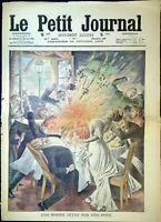 Le Petit Journal N°988 du 24/10/1909 Une bombe jetée sur une noce, nouveau canon