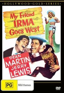BRAND NEW My Friend Irma Goes West (DVD, 1950) R4 Movie Jerry Lewis Dean Martin