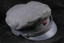Hungarian Communist Worker Guardian Civil Defense Hat 58 Badge Cap Rare Hungary