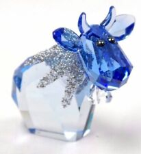Swarovski Crystal Ice Moo Limited Edition Retired 2015 Bnib Beautiful!