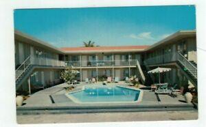 """CA San Diego California vintage  post card """"El Portal Motel & Apartrments"""""""