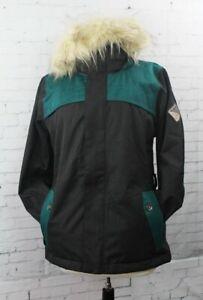 Bonfire Holladay Snowboard Jacket, Women's Medium, Black / Emerald New