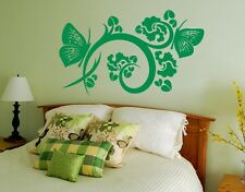 Flying Flower - Highest Quality Wall Decal Stickers