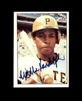 Willie Randolph Hand Signed 1975 SSPC Pittsburgh Pirates Autograph