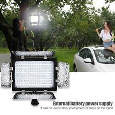 W160 LED Dimmbar Videolampe Videofotografie Videokamera Licht für DSLR Camcorder