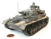 1:35 Scale Built German Panzer Panzerkampfwagen IV ausf d WWII Afrika Tank