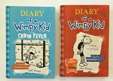 Diary of a Wimpy Kid Book Lot Of 2 Cabin Fever