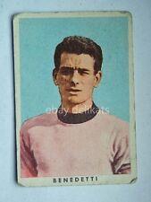 VECCHIA FIGURINA RASA calcio football 1961 PALERMO Enzo Benedetti *