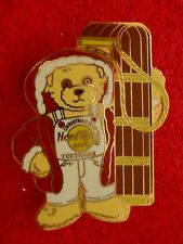 HRC Hard Rock Cafe Yokohama Christmasy 2001 Bear Sled + Red Coat LE500 Herringto