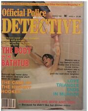 March 1980 issue of  Official Police Detective Magazine