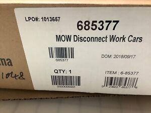 LIONEL M.O.W. DISCONNECT WORKCAR 4-PACK CARS O GAUGE maintenance prr 6-85377 NEW