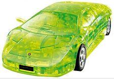 "3D PUZZLE 64 PIECES ""Lamborghini : Green"" / CRYSTAL PUZZLES"
