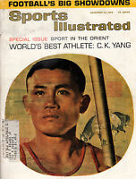 1963 Sports Illustrated December 23-C.K. Yang; New York Giants and Y.A. Tittle