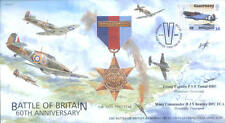 CC70c RAF Capel Le Ferne Battle of Britain fighter ace BEAZLEY DFC signed FDC