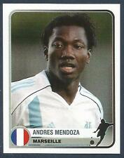PANINI 1955-2005 CHAMPIONS OF EUROPE- #246-MARSEILLE(LOAN) & PERU-ANDRES MENDOZA